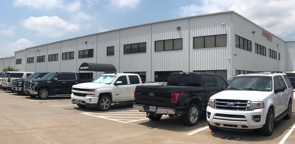 Image showing MCI's large facility.