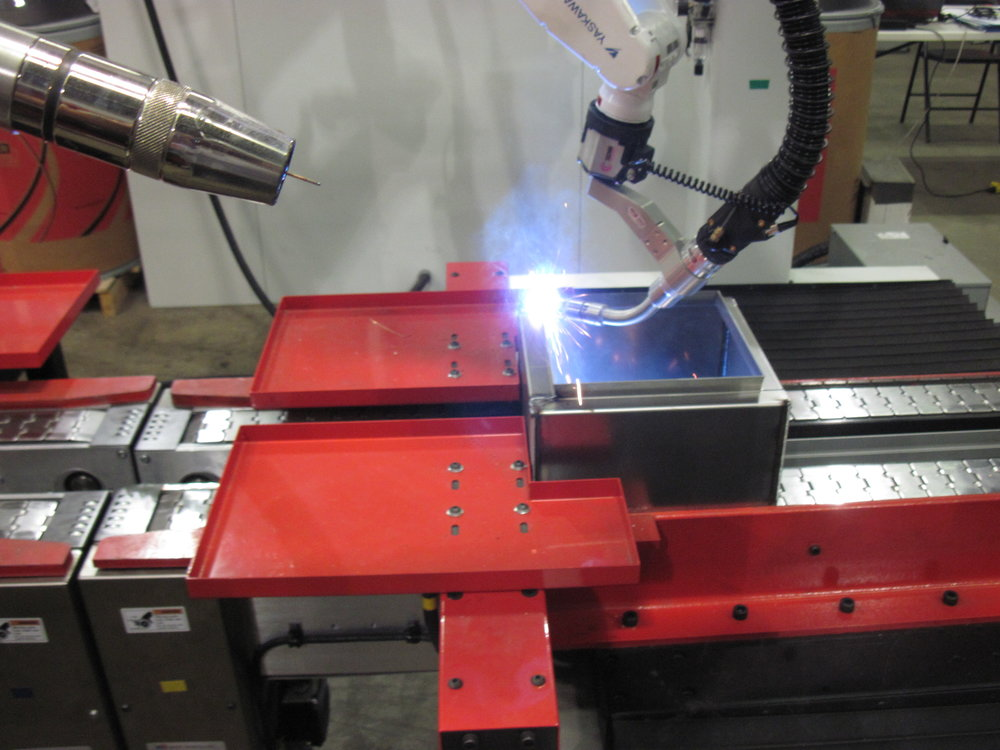 Image showing MCI's Automated Welding Capability.