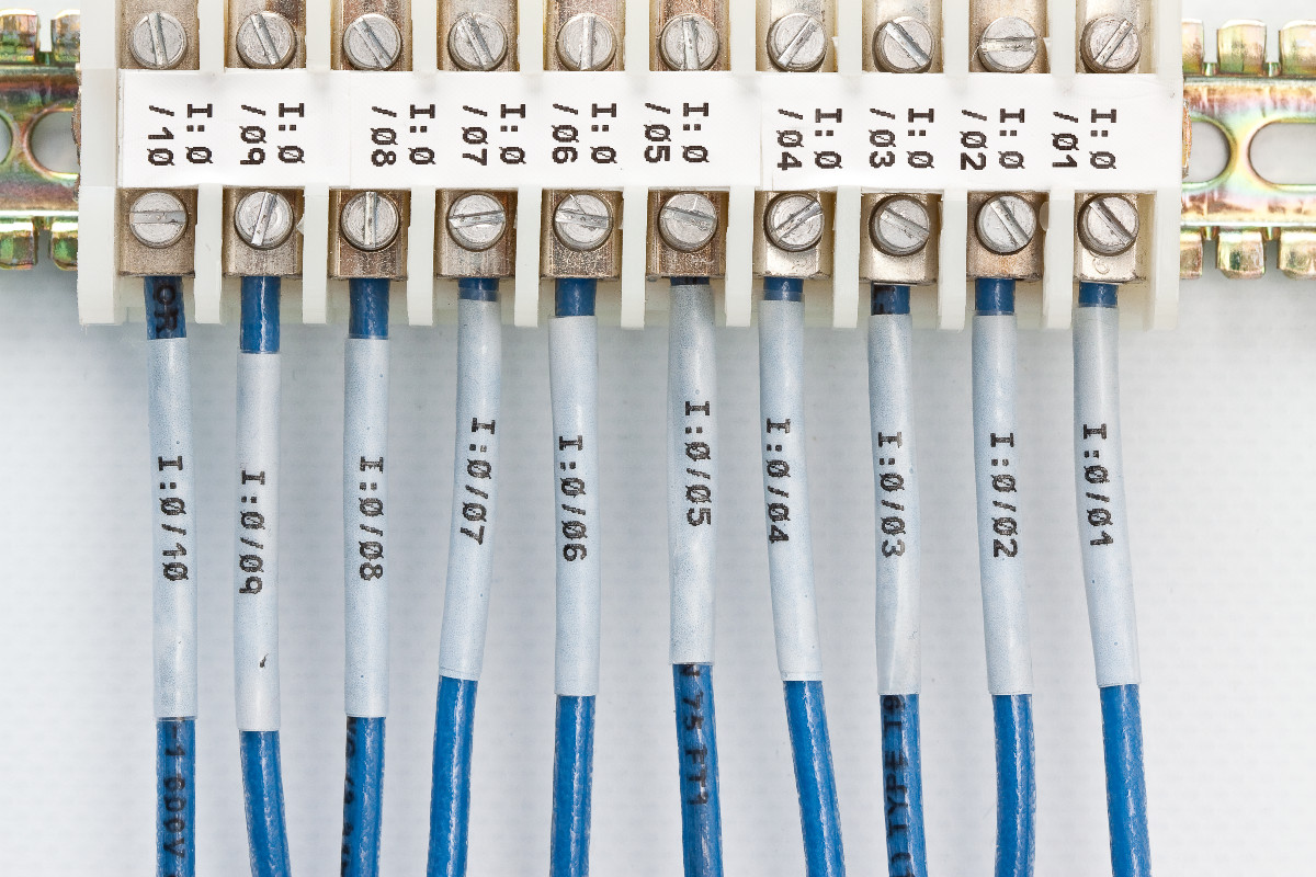 Image showing MCI's Wire Labels capability.