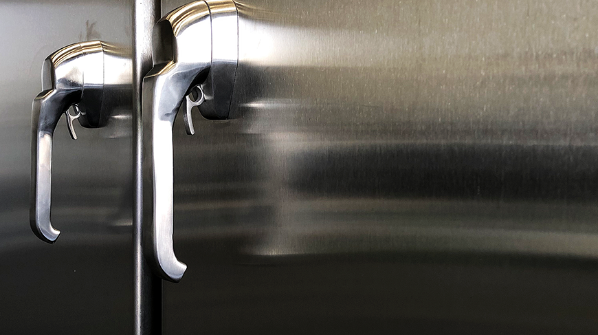 Image of a custom MCI stainless steel enclosure
