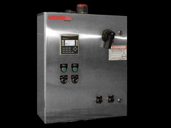 MCI's IDP Series control panel product image.