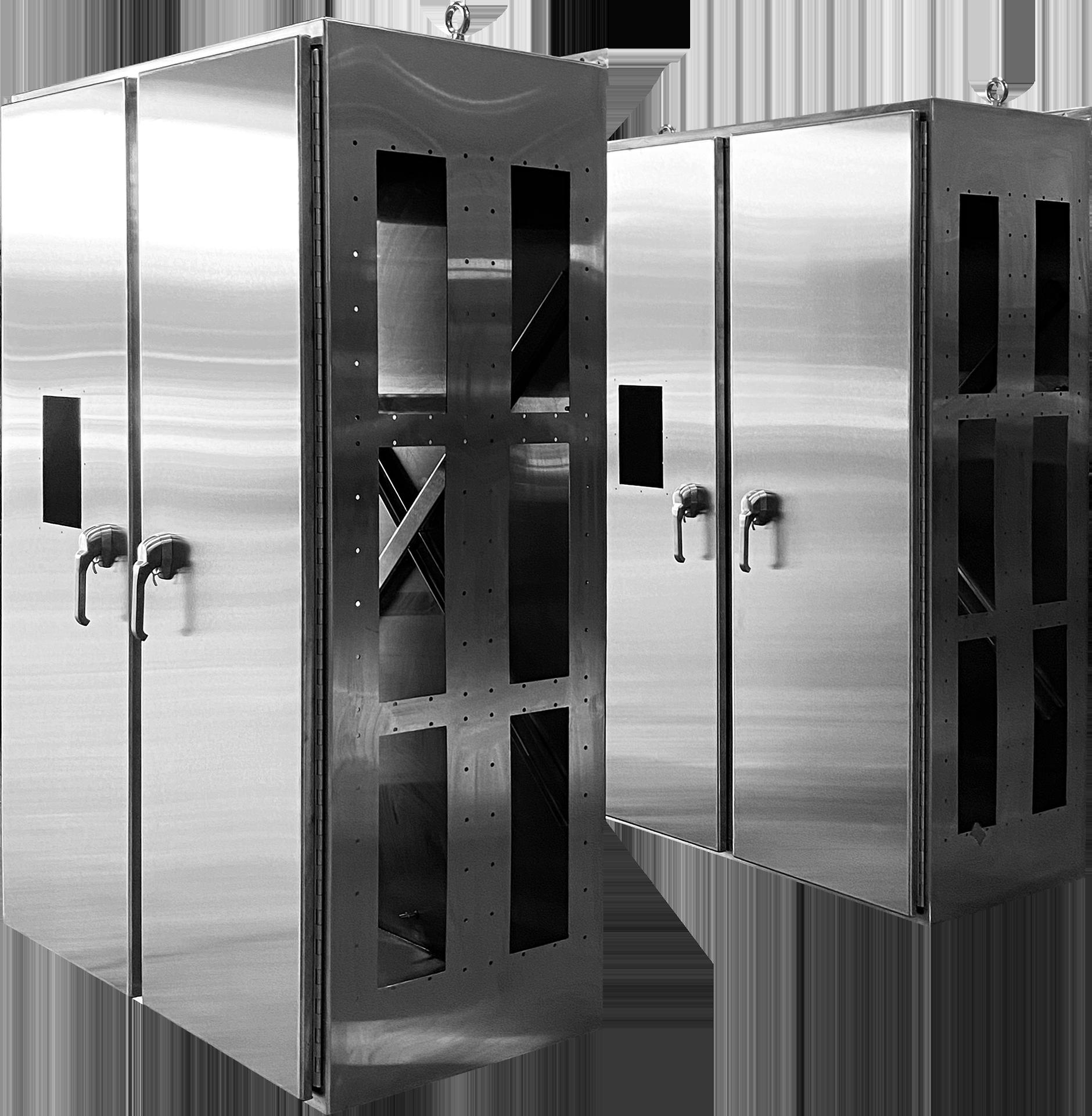 MCI's Steeline Enclosures enclosure..
