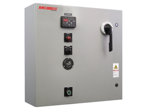 MCI's NSP Series control panel product image.